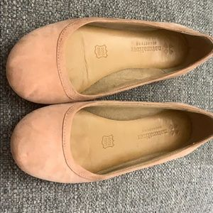 Naturalized flats - Pink Suede. Great condition.